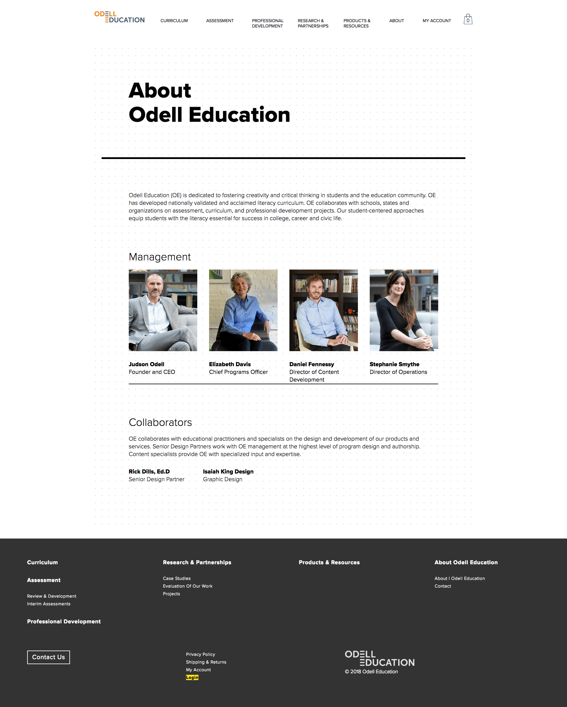 odell-education-wordpress-cms-responsive-about-text-page.png